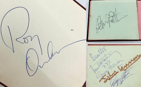 Женщина в детстве взяла автографы у ноунеймов и не пожалела. Парни стали рок-легендами, а она теперь богата
