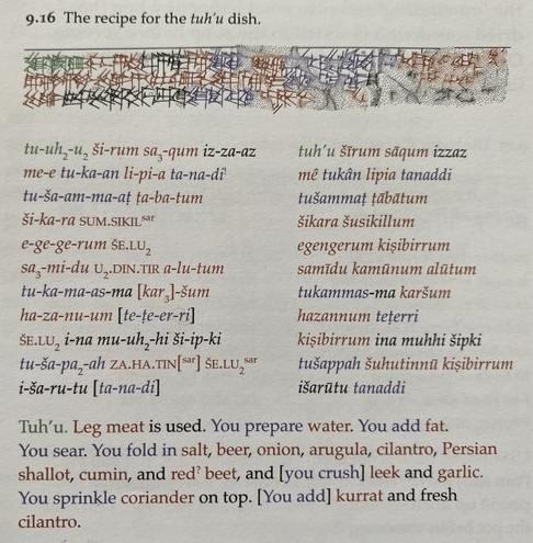 Учёный перевёл древние таблички и побежал на кухню. Это оказались рецепты блюд, утерянные на четыре тысячи лет