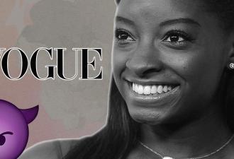 Темнокожая гимнастка попала на обложку Vogue. Но люди нашли здесь расизм, ведь в плохих снимках виноваты белые