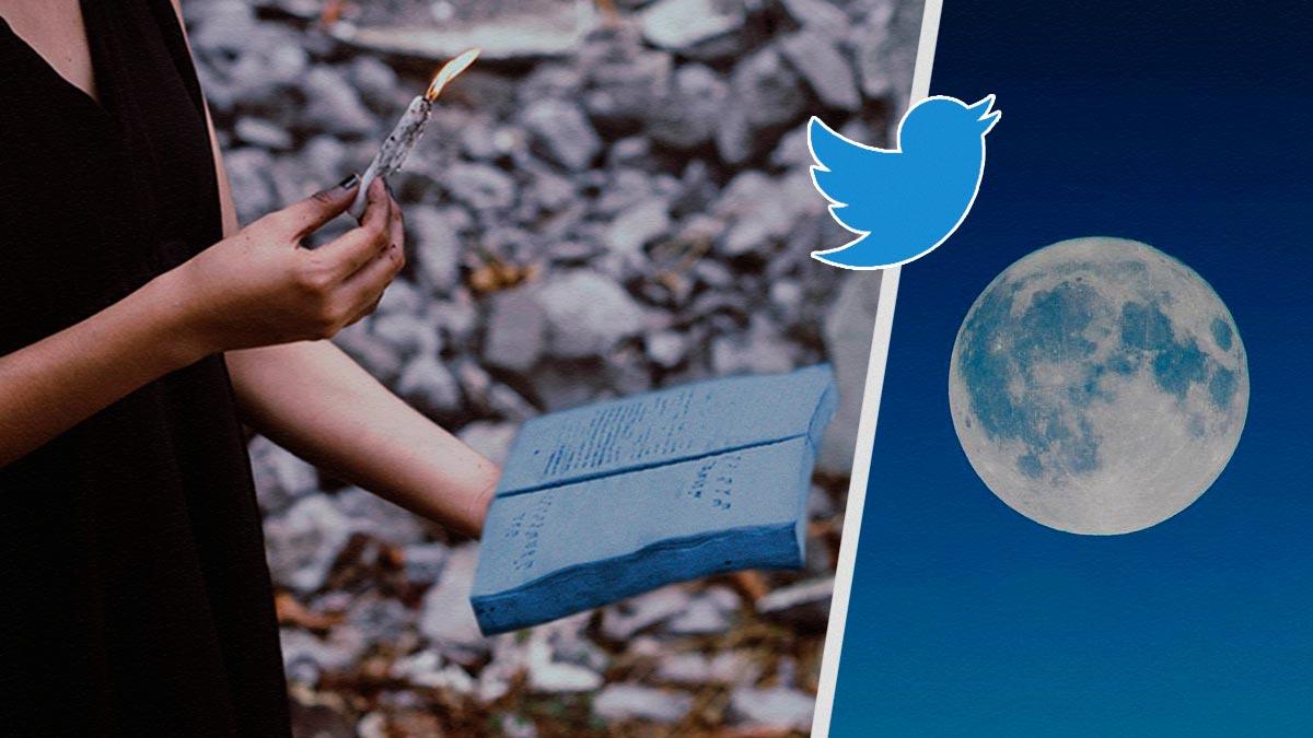 Колдуньи твиттера обвинили TikTok-ведьм в сглазе Луны. Да, это на нашей планете. Нет, со спутником всё хорошо