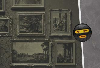 Картинная галерея предложила людям сыграть в хитрых воров. Но те не поняли правила и устроили