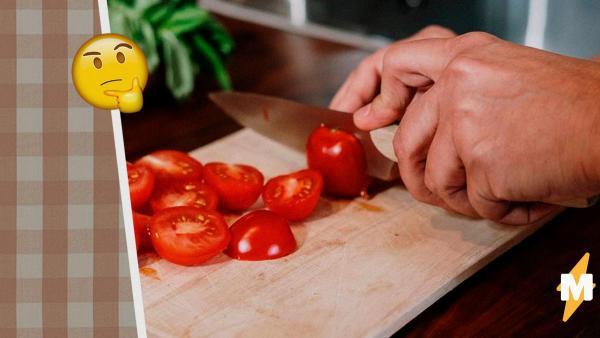 Как связаны знания физики и нарезка помидоров. Напрямую, ведь мы всю жизнь кромсали овощи неправильно