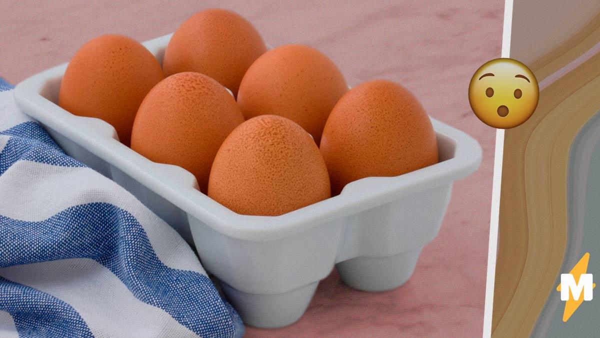 """Фермерша показала, какие яйца несут её куры. Но смотреть на них так же опасно, как на мороженое """"Радуга"""""""