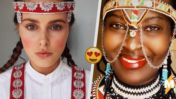 Девушки со всего света восхитили TikTok своими национальными нарядами.