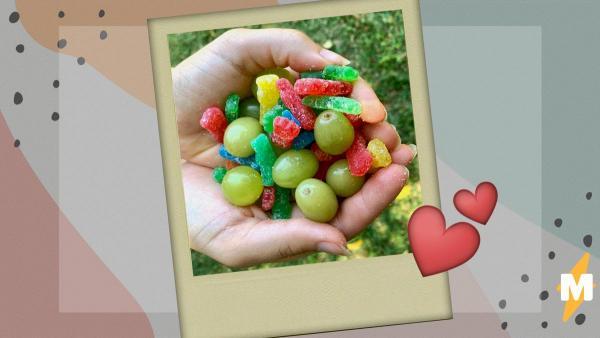 Журналистка превратила виноград в конфеты, не используя магию вне Хогвартса. Волшебство сотворили лайм и сахар