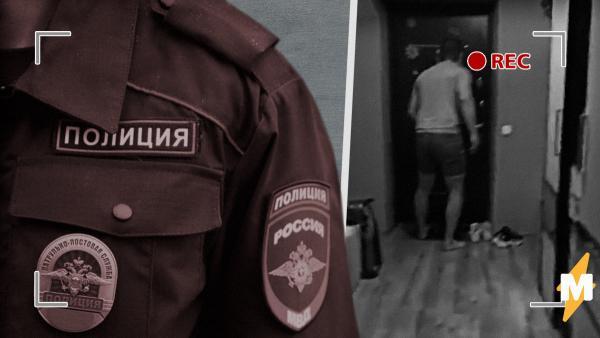 Полиция выпилила дверь в квартиру калининградца из-за видео с оскорблением МВД. 37-й год вернулся, пишут люди