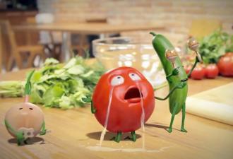 Художник показал, что получится, если обработать фото помидора в FaceApp. Пробуждение древнего (и мемного) зла