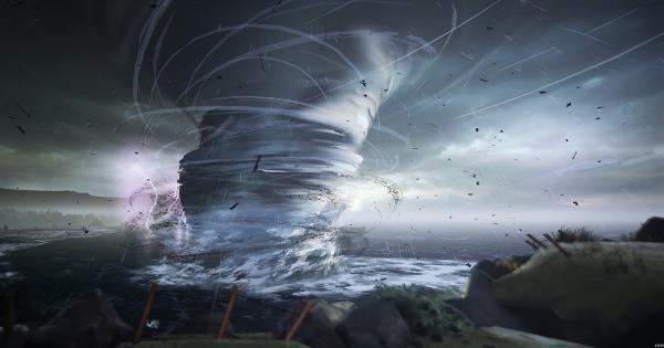 Люди поражались эпичности фото торнадо. Но профи хватило пары секунд, чтобы понять - на снимке фейк и не один