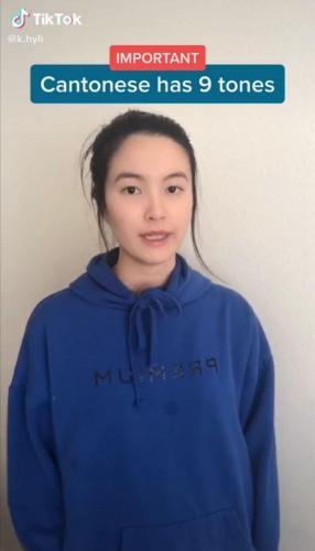 Девушка показала, как звучат просьба и ругательство на китайском, и люди в истерике. Они не слышат разницы