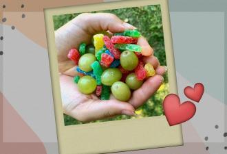 Лайфхакерша превратила виноград в конфеты без магии вне Хогвартса. Наконец можно ответить маме:
