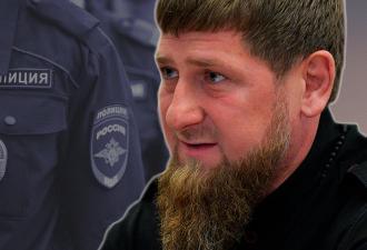 Чеченские полицейские поддержали Рамзана Кадырова флешмобом. Но вместо акции люди видят кадры из антиутопий