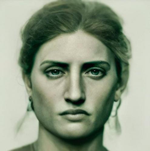 Фотограф использует ИИ, чтобы увидеть реальные лица известных людей прошлого. Винсент Ван Гог был красавчиком