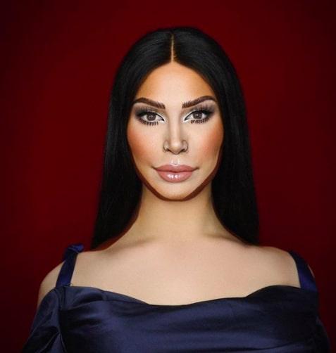 Визажист превратился в новую версию Ким Кардашьян. С таким сходством не смогла поспорить даже сама модель