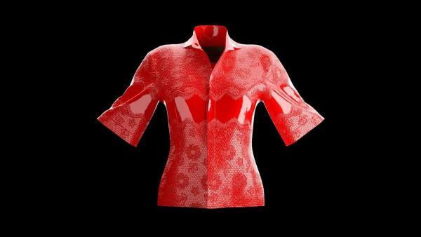 Бренд продаёт рубашку, которую никто не сможет носить. Это бесконтактная мода - со смыслом, но беспощадная