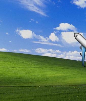 Почувствуйте свою старость. Игрок в Microsoft Flight Simulator долетел до заставки Windows XP, но её не узнать