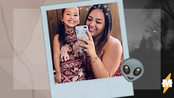Мама сняла дочь на видео и стала автором хоррора. Аксессуар девочки добавил ролику крипоты, а людям бессонницу