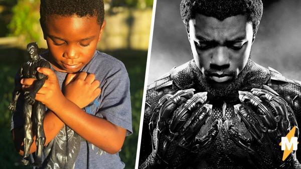 Дети со всего мира почтили память Чёрной пантеры как истинные фаны Мстителей. У взрослых слёзы от таких кадров