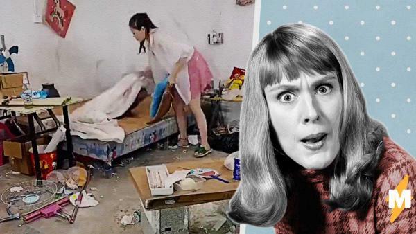 Девушка сделала из комнаты парня «конфетку», но разозлила людей. К такой чистоте мужчины оказались не готовы