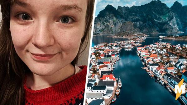 Девушка показала, каково жить с аллергией на холод в Норвегии. На улице она не узнаёт себя, ведь стареет вдвое