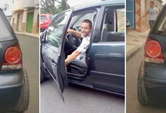 Автолюбитель разрезал авто пополам и познал комфорт. Да, тачка худее Слендермена, но пробки с такой не страшны