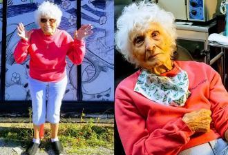 Как провести старость, чтобы было не стыдно перед зумерами. Секрет знает бабуля, набившая себе тату в 103 года