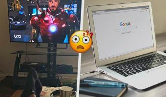 Студент поделился фото с онлайн-занятия и заставил людей плакать. От смеха, ведь они разглядели, что он гуглит