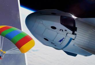 Астронавты SpaceX так вернулись с МКС на парашютах, что намусорили на Земле. И люди им этого не простят