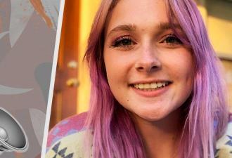 Глухая девушка узнала, что волосы могут издавать звук. Реакция говорит о её чувствах лучше, чем 1000 слов
