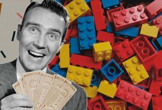 Мужчина дёшево купил набор Lego и озолотился. Внутри ждал герой, которого знают все, но видели единицы