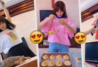 Девушка готовит еду, а получается эпик, достойный аниме. Кулинария в стиле кунг-фу выглядит именно так