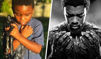 Дети со всего мира почтили память Чёрной пантеры как истинные фаны Мстителей. Но взрослые видят в этом подвох