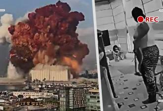 Люди увидели реакцию жителей Бейрута на взрыв и удивились. А секундные видео возвратили веру в человечество