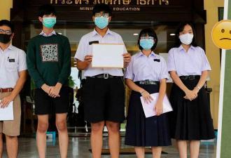 Тайские дети решили бороться со школьной формой. Но их акциями протеста можно сломать не систему, а психику