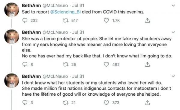 Люди оплакивали учёную-активистку, но потом разобрали её твиты. И пришли в ярость - они скорбели по фальшивке