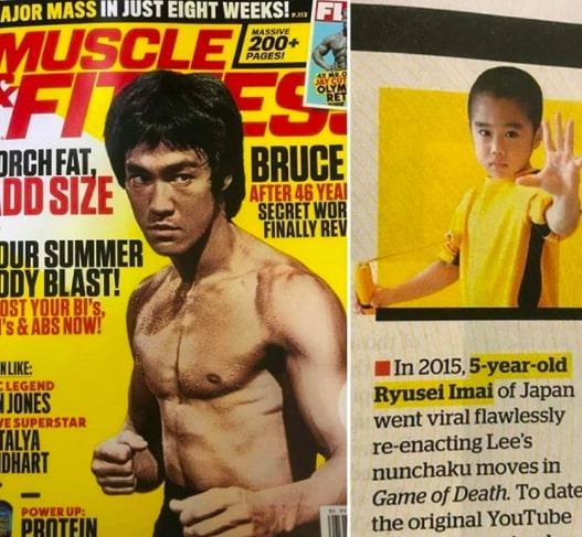 Мальчик, который копировал трюки Брюса Ли, теперь сам стал им. Люди в ужасе от его пресса - ведь ему всего 10