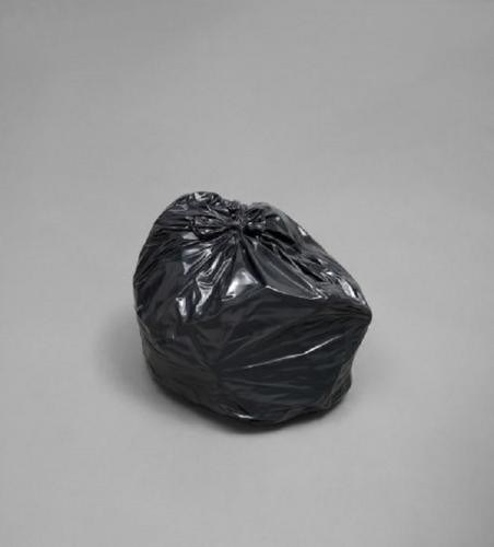 Художник не стал утруждаться и сделал экспонатом мусорный мешок. А теперь сядь, чтобы узнать, сколько он стоит