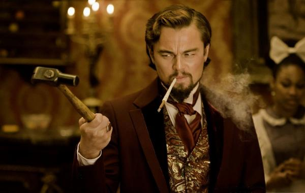 """Леонардо Ди Каприо удивился в """"Джанго освобождённом"""". Это мем-вызов, решили киноманы, и справились они на ура"""