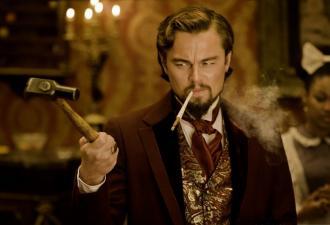 Леонардо Ди Каприо удивился в «Джанго Освобождённом». Это мем-вызов, решили киноманы, и справились они на ура