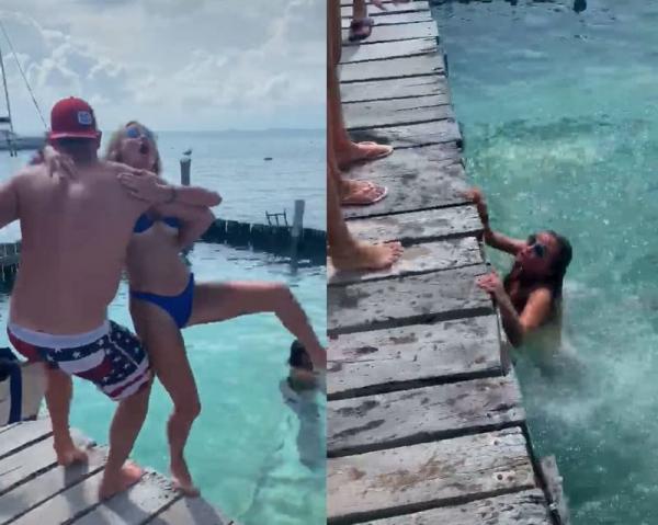 Девушка с фобией акул угодила в суровый пранк от возлюбленного. Но перед водоворотом хейта оба были бессильны