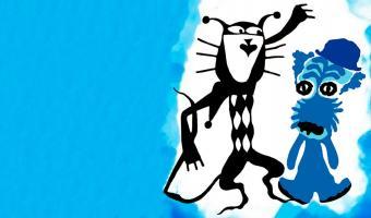Пёс угодил в синюю краску — и привет, собака-cмурф. Питомец в порядке, но мемоделы, увидевшие его, — нет