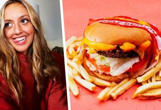 А вы правильно едите бургеры? Тиктокерша показала новый способ поглощать фастфуд, и это инновация, решили люди