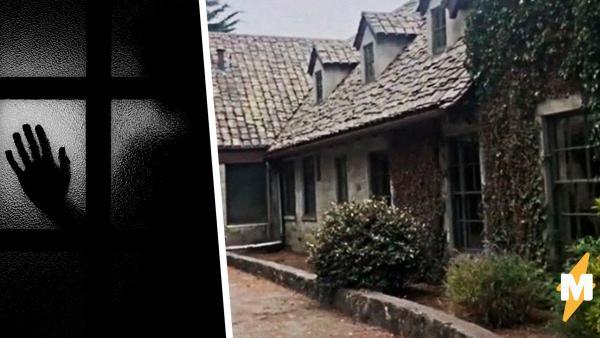 Мать сняла на видео заброшенное поместье и напугала дочь. Лицо ребёнка в окне показало: дом не пустовал