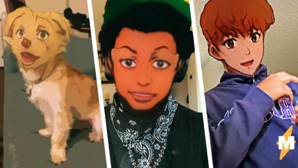 Люди без ума от нового аниме-фильтра в Snapchat. Одни выглядят как мечта подростка, а другие как ночной кошмар