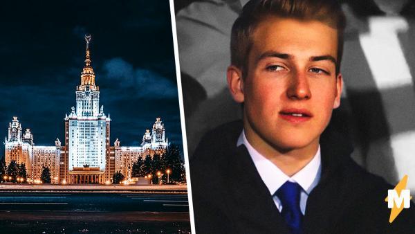 Коля Лукашенко, возможно, будет учиться в столице России под вымышленной фамилией. Люди уже гадают, под какой