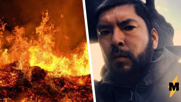 Фото пожарного после борьбы с огнём напомнило людям, кто супергерой в жизни. Но без споров о копах не обошлось