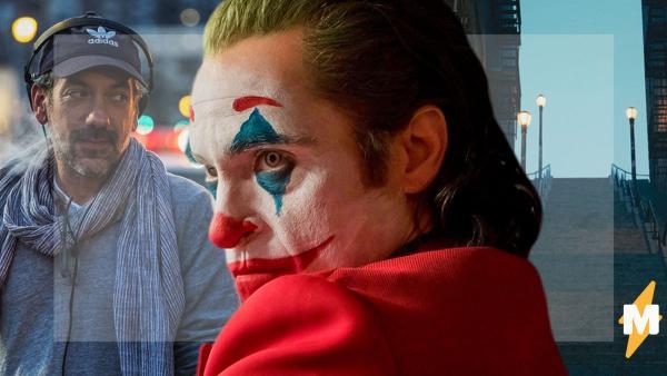 """Тодд Филлипс показал, как снимался """"Джокер"""" с Хоакином Фениксом. И лишь через год люди поняли: это мем"""