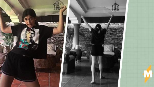 Блогерша показала зажигательный танец, но челлендж из него не выйдет. Разве что, инструкция по самоуничтожению
