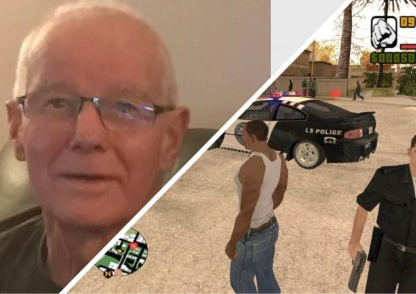 Семья искала пропавшего старика в лучших традициях GTA: с вертолётом и собаками. Но упс: он никуда не пропадал