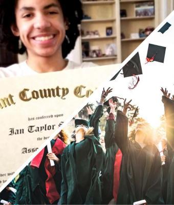 Мальчик в 14 лет окончил колледж, но родители не видят в этом ничего особого. В их семье есть дети и поумнее