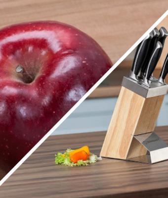 Фото яблока сломало людей и законы природы. Оно съедено, но выглядит целым — спасибо необычной мякоти